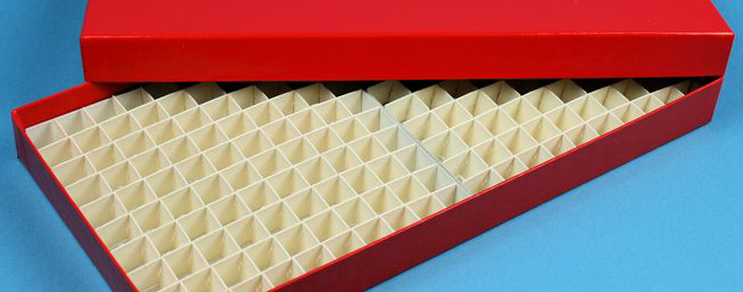 Alpha cryoboxes 136x268 mm +grids