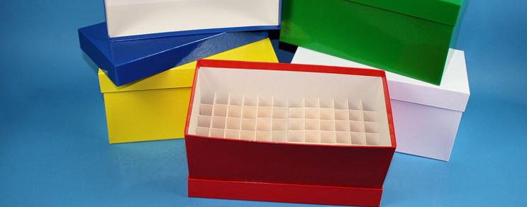 Alpha Kryo Pappe Boxen 136x268x130 mm hoch +Raster