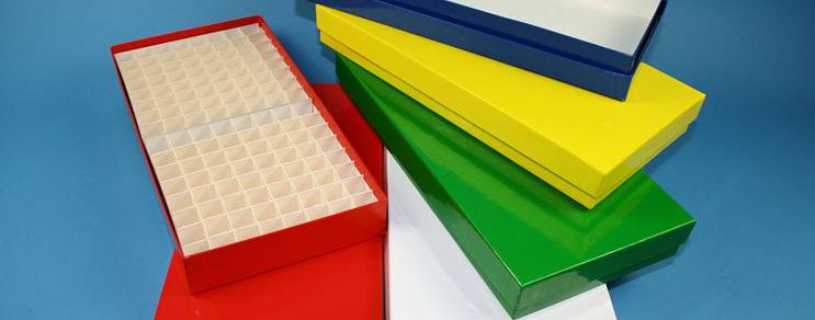 Alpha Kryo Pappe Boxen 136x268x32 mm hoch +Raster