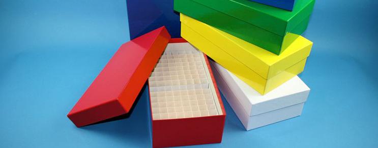 Bravo Kryo Pappe Boxen 133x257x75 mm hoch +Raster