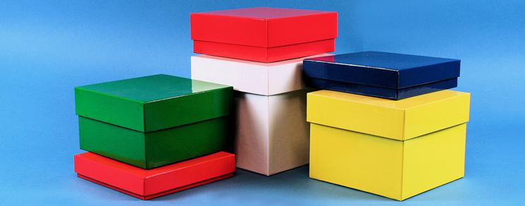 Delta Pappe Boxen 133x133 mm