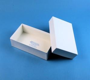 LIMA 50 Cryo tüp kutu (karton özel) / separatörsüz, beyaz, yükseklik 53 mm