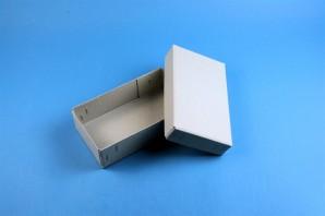 LIMA 50 Cryo tüp kutu (gri karton) / separatörsüz, gri, yükseklik 53 mm