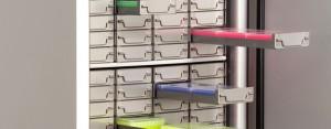 Cryo horizontales racks
