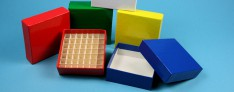 Alpha Kryo Pappe Boxen 136x136x25 mm hoch