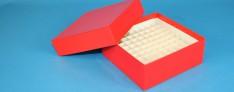 Alpha Kryo Pappe Boxen 136x136x50 mm hoch +Raster