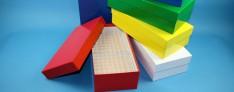 Alpha carton boîtes de Cryo 136x268x75 mm h. +Séparateur