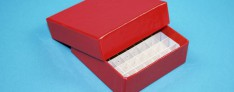 Bravo Kryo Pappe Boxen 133x133x25 mm hoch +Raster