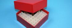 Bravo Kryo Pappe Boxen 133x133x32 mm hoch +Raster
