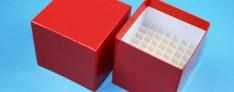 Bravo Kryo Pappe Boxen 133x133x75 mm hoch +Raster