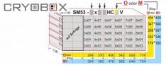 Einschub MTP 53 mm hoch