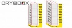 MTP Truhengestell Box 58 mm hoch