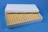 ALPHA 32 lang2 Kryobox (Karton standard) 13x26 Fächer, weiss, Höhe 32 mm
