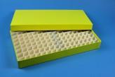ALPHA 32 lang2 Kryobox (Karton standard) 13x26 Fächer, gelb, Höhe 32 mm