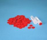 Farbkodierung rot für Kryo-Röhrchen.