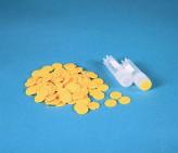 Farbkodierung gelb für Kryo-Röhrchen.