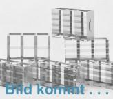 CellBox Maxi lang  Schrankgestell 2x3 Fächer für 6 Kryoboxen bis 148x287x128 mm Klappgriff, offene Bauform