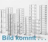 CellBox Mini lang Truhengestell für 4 Kryoboxen bis 122x237x128 mm Klappgriff, Edelstahl